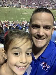 Nicholaus  attended 2019 Walk On's Independence Bowl: Miami vs. Louisiana Tech - NCAA on Dec 26th 2019 via VetTix