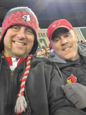 James attended 2019 Franklin American Music City Bowl: Mississippi State vs. Louisville - NCAA Football on Dec 30th 2019 via VetTix