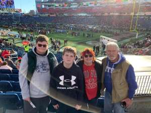 Rose attended 2019 Franklin American Music City Bowl: Mississippi State vs. Louisville - NCAA Football on Dec 30th 2019 via VetTix