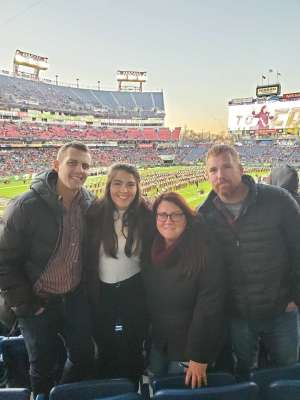 Justin attended 2019 Franklin American Music City Bowl: Mississippi State vs. Louisville - NCAA Football on Dec 30th 2019 via VetTix