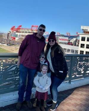 Larry attended 2019 Franklin American Music City Bowl: Mississippi State vs. Louisville - NCAA Football on Dec 30th 2019 via VetTix