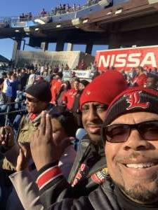 Kenneth attended 2019 Franklin American Music City Bowl: Mississippi State vs. Louisville - NCAA Football on Dec 30th 2019 via VetTix