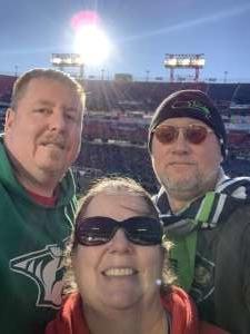 Shannon attended 2019 Franklin American Music City Bowl: Mississippi State vs. Louisville - NCAA Football on Dec 30th 2019 via VetTix
