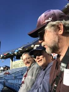 Troy attended 2019 Franklin American Music City Bowl: Mississippi State vs. Louisville - NCAA Football on Dec 30th 2019 via VetTix