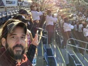 Jose attended 2019 Franklin American Music City Bowl: Mississippi State vs. Louisville - NCAA Football on Dec 30th 2019 via VetTix