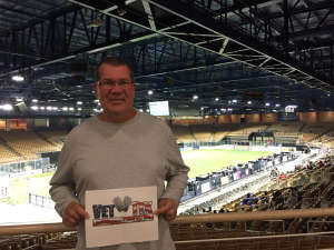 Walt attended Orlando Seawolves vs. Cal Turlock Express - Major Arena Soccer League on Mar 1st 2020 via VetTix