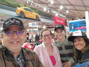Hani attended 49th Annual Barrett-Jackson Auction on Jan 11th 2020 via VetTix