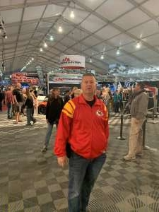 Terry attended 49th Annual Barrett-Jackson Auction on Jan 11th 2020 via VetTix