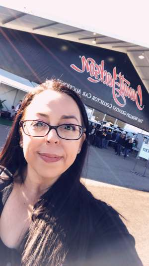 Shery attended 49th Annual Barrett-Jackson Auction on Jan 11th 2020 via VetTix