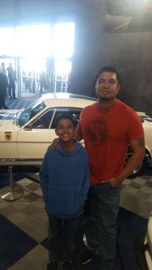 Eric attended 49th Annual Barrett-Jackson Auction on Jan 11th 2020 via VetTix
