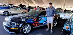 Todd attended 49th Annual Barrett-Jackson Auction on Jan 11th 2020 via VetTix