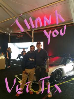 Dean attended 49th Annual Barrett-Jackson Auction on Jan 11th 2020 via VetTix