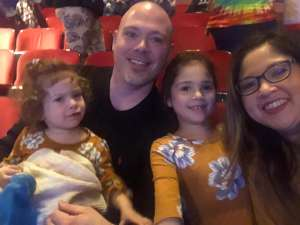 Kenny attended Nick Jr. Live! Move to the Music on Jan 4th 2020 via VetTix