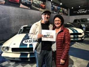 Albert attended 49th Annual Barrett-Jackson Auction on Jan 12th 2020 via VetTix