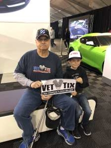 George attended 49th Annual Barrett-Jackson Auction on Jan 12th 2020 via VetTix