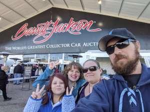 Michael attended 49th Annual Barrett-Jackson Auction on Jan 12th 2020 via VetTix