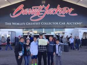 Allan attended 49th Annual Barrett-Jackson Auction on Jan 12th 2020 via VetTix