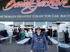 David attended 49th Annual Barrett-Jackson Auction on Jan 12th 2020 via VetTix