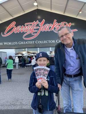Daniel attended 49th Annual Barrett-Jackson Auction on Jan 12th 2020 via VetTix