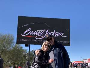 Dee Norton attended 49th Annual Barrett-Jackson Auction on Jan 12th 2020 via VetTix