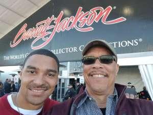 Emmitt attended 49th Annual Barrett-Jackson Auction on Jan 12th 2020 via VetTix