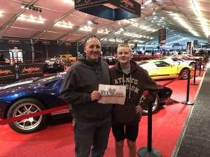 Benjamin attended 49th Annual Barrett-Jackson Auction on Jan 12th 2020 via VetTix
