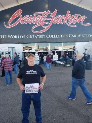 Michael attended 49th Annual Barrett-Jackson Auction on Jan 13th 2020 via VetTix