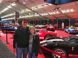 Richard attended 49th Annual Barrett-Jackson Auction on Jan 13th 2020 via VetTix