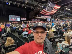 Timothy attended 49th Annual Barrett-Jackson Auction on Jan 13th 2020 via VetTix