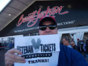 Carl attended 49th Annual Barrett-Jackson Auction on Jan 13th 2020 via VetTix