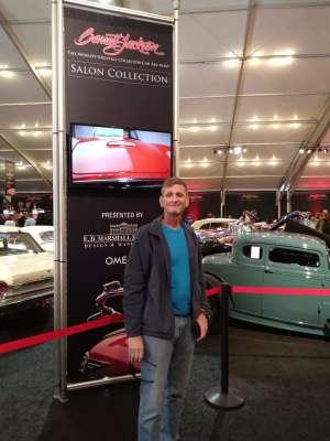 Matthew attended 49th Annual Barrett-Jackson Auction on Jan 13th 2020 via VetTix