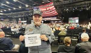 Donald attended 49th Annual Barrett-jackson Auction on Jan 15th 2020 via VetTix