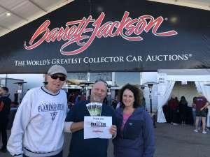 Brian attended 49th Annual Barrett-Jackson Auction on Jan 19th 2020 via VetTix