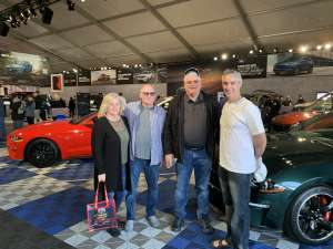Jon attended 49th Annual Barrett-Jackson Auction on Jan 19th 2020 via VetTix