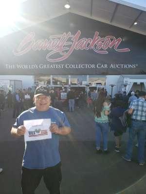 Greg attended 49th Annual Barrett-Jackson Auction on Jan 19th 2020 via VetTix