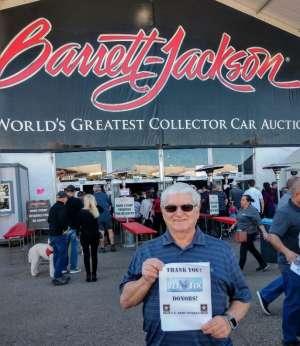 Alan attended 49th Annual Barrett-Jackson Auction on Jan 19th 2020 via VetTix