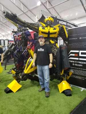 Mark attended 49th Annual Barrett-Jackson Auction on Jan 19th 2020 via VetTix