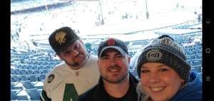 Kevin attended New Era Pinstripe Bowl: Michigan State Spartans vs. Wake Forest Demon Deacons - NCAA Football on Dec 27th 2019 via VetTix
