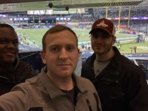 William attended New Era Pinstripe Bowl: Michigan State Spartans vs. Wake Forest Demon Deacons - NCAA Football on Dec 27th 2019 via VetTix