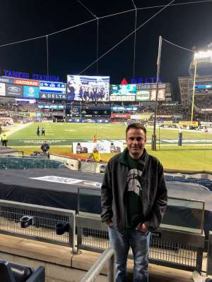 Adam attended New Era Pinstripe Bowl: Michigan State Spartans vs. Wake Forest Demon Deacons - NCAA Football on Dec 27th 2019 via VetTix