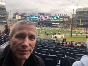 Robert attended New Era Pinstripe Bowl: Michigan State Spartans vs. Wake Forest Demon Deacons - NCAA Football on Dec 27th 2019 via VetTix