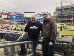 Darrell attended New Era Pinstripe Bowl: Michigan State Spartans vs. Wake Forest Demon Deacons - NCAA Football on Dec 27th 2019 via VetTix