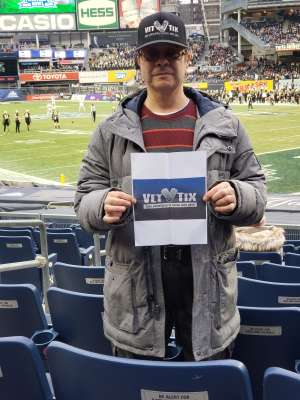 Joseph Gonzalez  attended New Era Pinstripe Bowl: Michigan State Spartans vs. Wake Forest Demon Deacons - NCAA Football on Dec 27th 2019 via VetTix