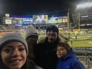 Emily attended New Era Pinstripe Bowl: Michigan State Spartans vs. Wake Forest Demon Deacons - NCAA Football on Dec 27th 2019 via VetTix