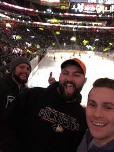Jacob attended Great Lakes Invitational - NCAA Hockey on Dec 31st 2019 via VetTix