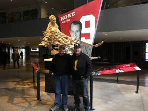 Loren attended Great Lakes Invitational - NCAA Hockey on Dec 31st 2019 via VetTix