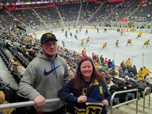 Bethany attended Great Lakes Invitational - NCAA Hockey on Dec 31st 2019 via VetTix