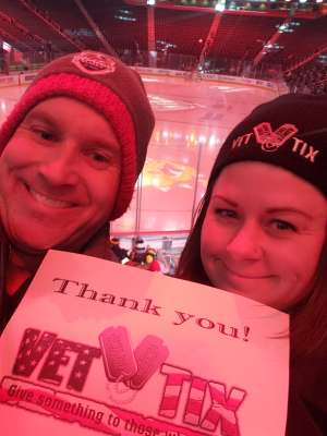 Erin attended Great Lakes Invitational - NCAA Hockey on Dec 31st 2019 via VetTix
