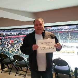 Robert attended Great Lakes Invitational - NCAA Hockey on Dec 31st 2019 via VetTix