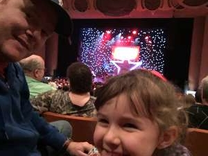 Trenton attended A Magical Cirque Christmas on Dec 26th 2019 via VetTix